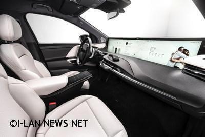 拜騰展示首款豪華智能電動SUV M-Byte