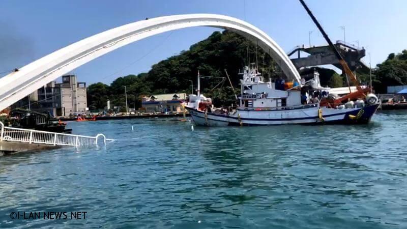 南方澳斷橋漁船以月漁獲量平均值每噸補助880元