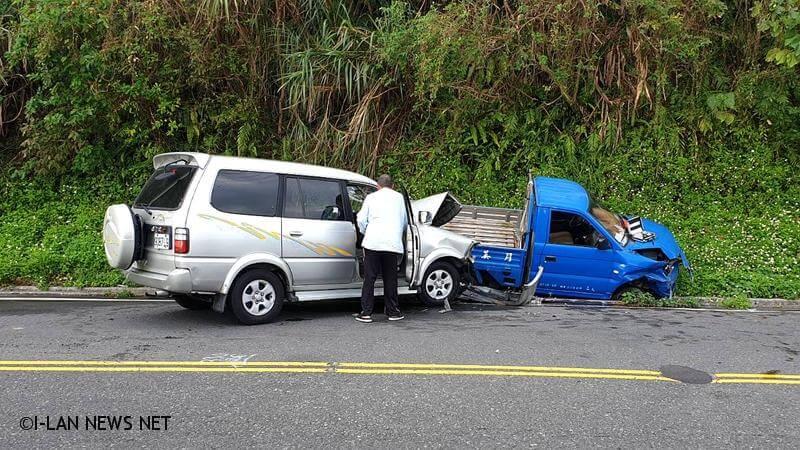 蘇花公路對撞車禍3人受傷!