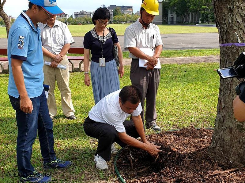 林錫明:宜運喬木保護土壤未改良前請暫勿施工!