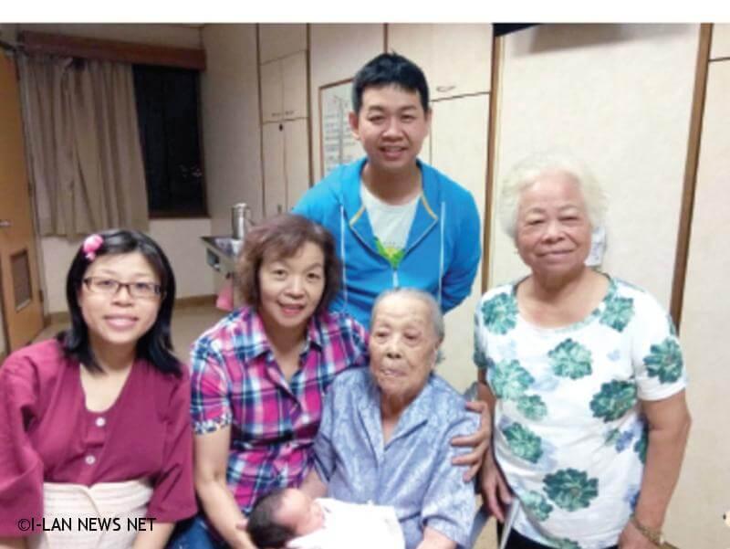 108年宜蘭縣百歲人瑞專輯—陳阿燕