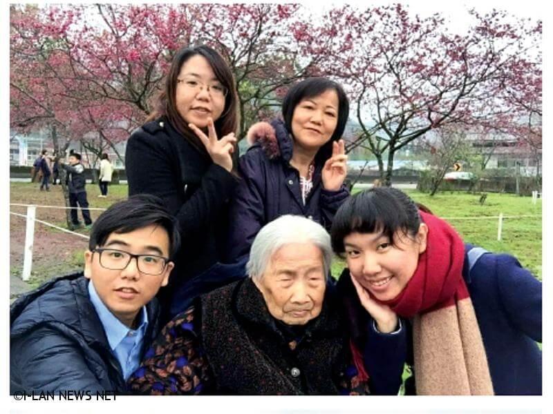 108年宜蘭縣百歲人瑞專輯—何阿杏