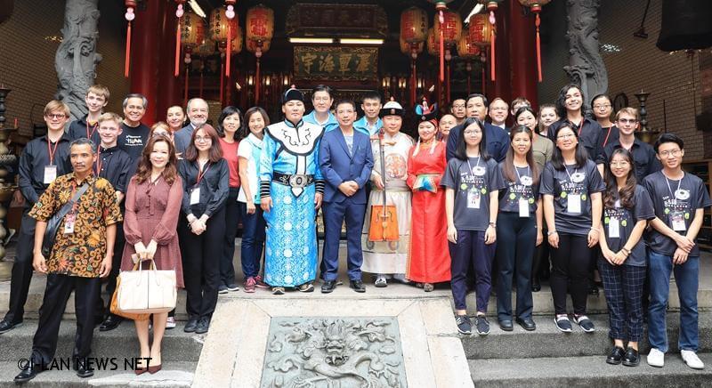 到昭應宮禮讚也象徵多元文化跨種族互相尊重的精神已成為「丟丟銅蘭城國際音樂節」的傳統。
