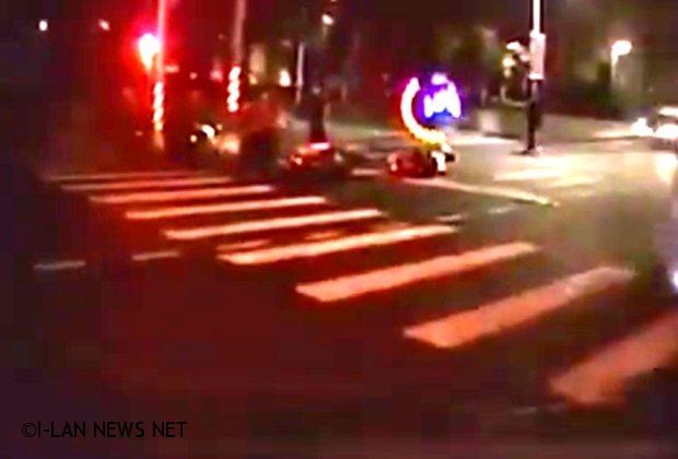 宜市外送員遭追撞 義消受訓返回路過救援送醫!