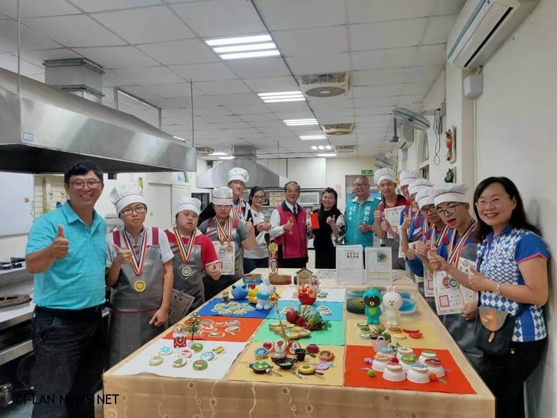 宜蘭餐飲推廣協會理事長林麗惠致力從事社會企業發展,提供特教弱勢學員就業學習機會。