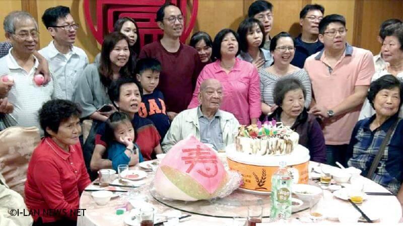 108年宜蘭縣百歲人瑞專輯—王炳城