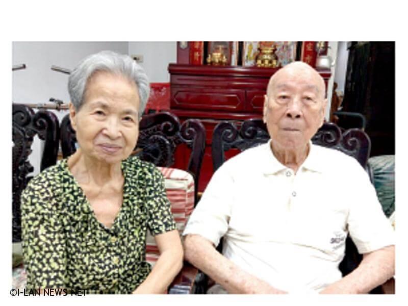 108年宜蘭縣百歲人瑞專輯—張民華