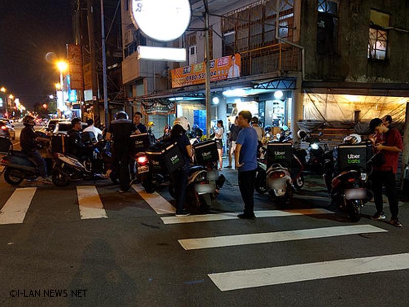 外送人員意外事故頻傳 宜蘭進行交通安全宣導!