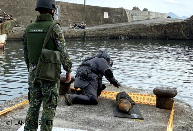 頭城火箭彈爆炸事件才3天 又有漁民撈起二戰大砲彈!