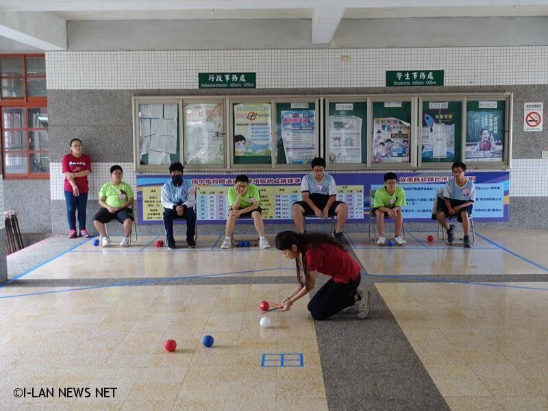 滾動希望,看見愛,宜蘭縣一年一度地板滾球競賽,已邁入第五屆。