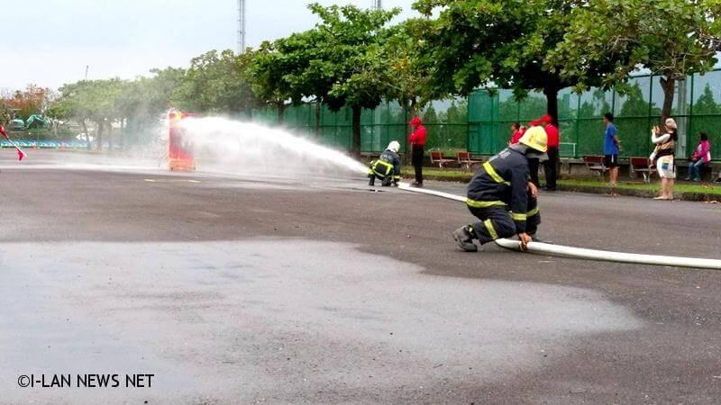 108年度宜蘭縣義勇消防總隊競技目標明年全國奪冠
