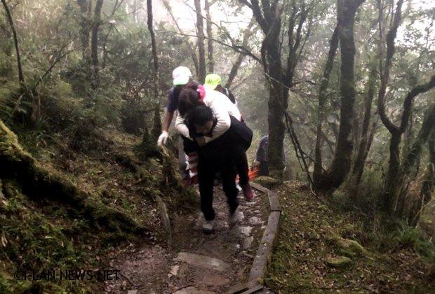 遊客山毛櫸步道健行 一婦人受傷求援!