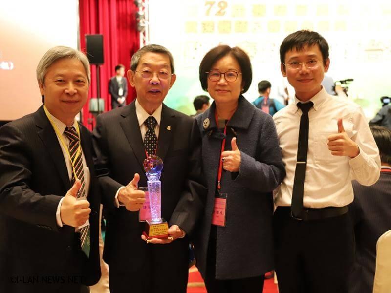 台灣醫療貢獻獎這份榮譽歸功於醫院全體同仁的努力,未來會持續精進,為宜蘭服務。