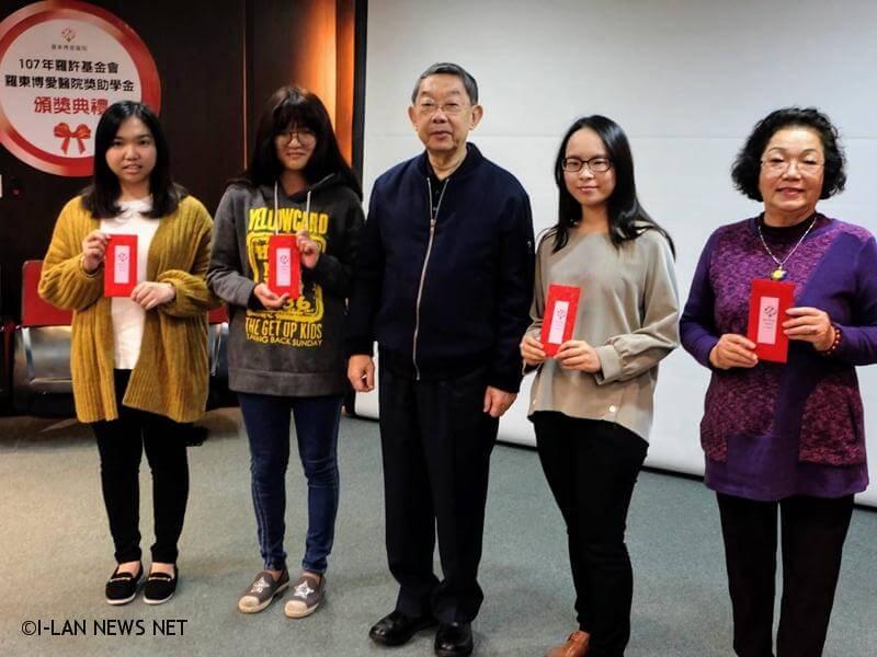 宜蘭羅東博愛醫院也長期投身公益,醫院負責人許國文醫師榮獲今年度台灣醫療貢獻獎。