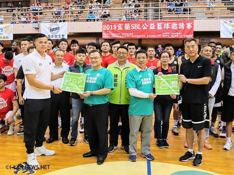 今年力邀前來的台灣銀行籃球隊、九太科技籃球隊,是國內最高籃球殿堂的SBL勁旅。