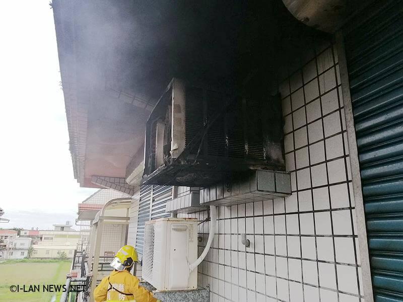 接獲民眾119報案,頭城鎮三和路發生住宅火警,請求消防局派員前往救災。