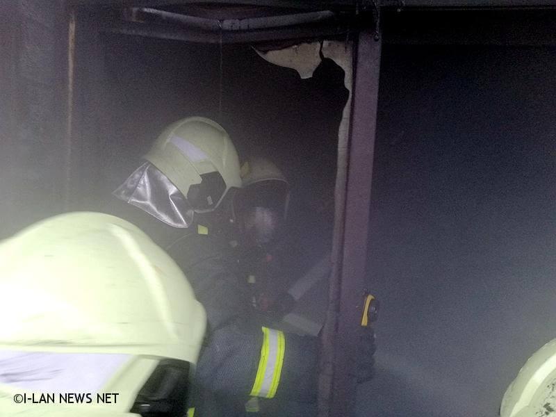 在4點47順利將火勢熄滅,現場並無人員傷亡。