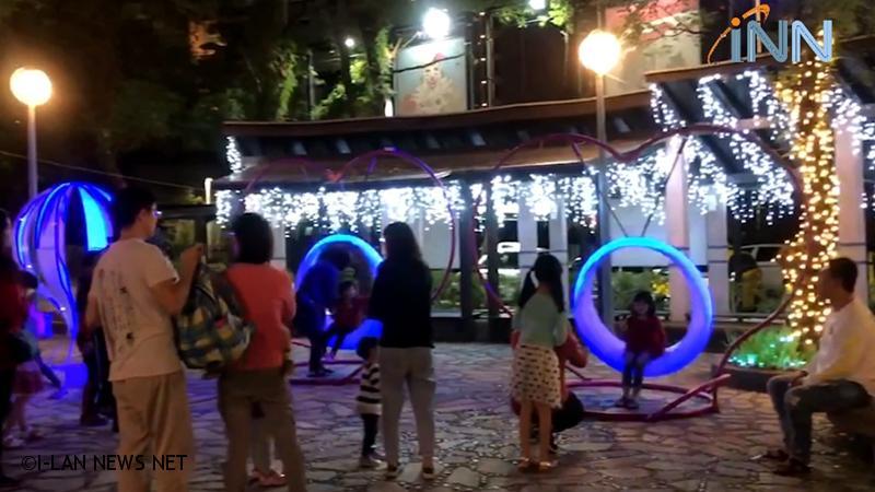 礁溪溫泉燈花季 超吸睛!