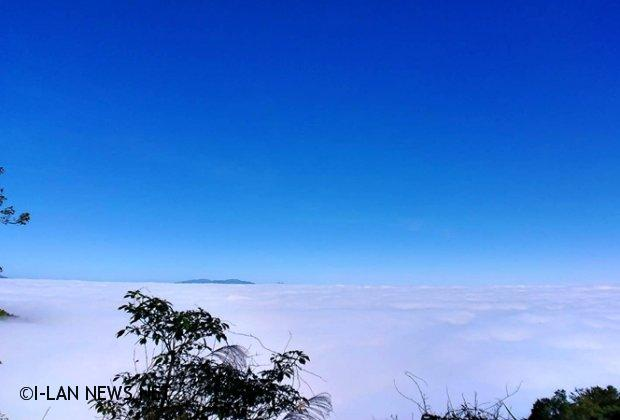 太平山秋天的雲海 哇!