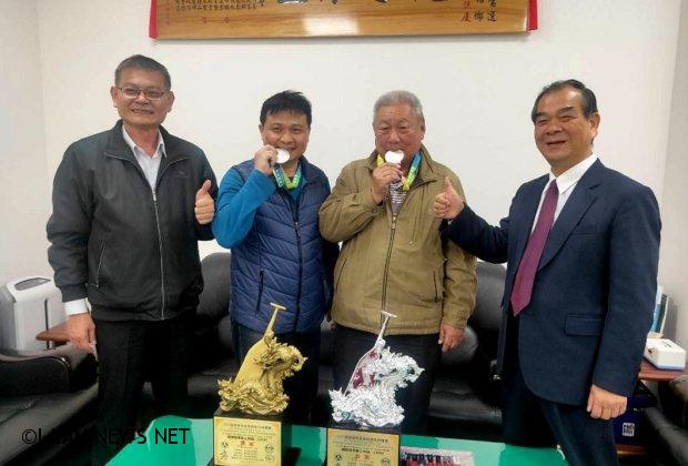 「2019年高雄城市盃國際龍舟錦標賽」五結鄉拿佳績!