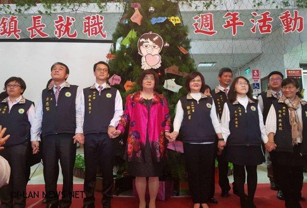 羅東鎮長吳秋齡就職一週年 提出六大施政成果