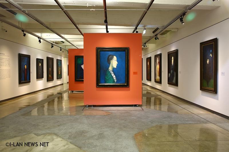展覽依照邱亞才肖像創作的類型分為六個主題,呈現出邱亞才如何透過繪畫來訴說人生。