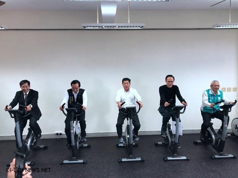 108年壯圍國中獲得了教育部體育署及宜蘭縣政府經費補助,增置了二間體適能教室以及更新活動中心。