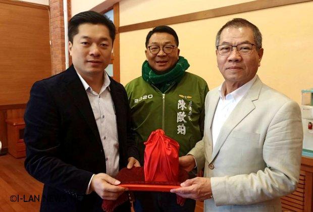 民進黨宜縣議會黨團總召陳俊宇接掌!
