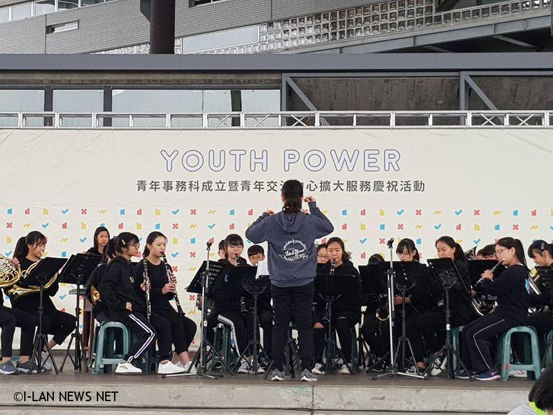 縣府青年事務科在羅東文化工場免費提供場域使用!