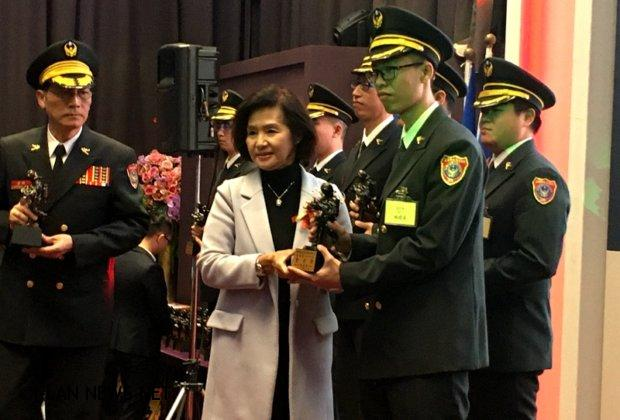 119消防節宜蘭縣23位消防人員獲頒金手獎殊榮!