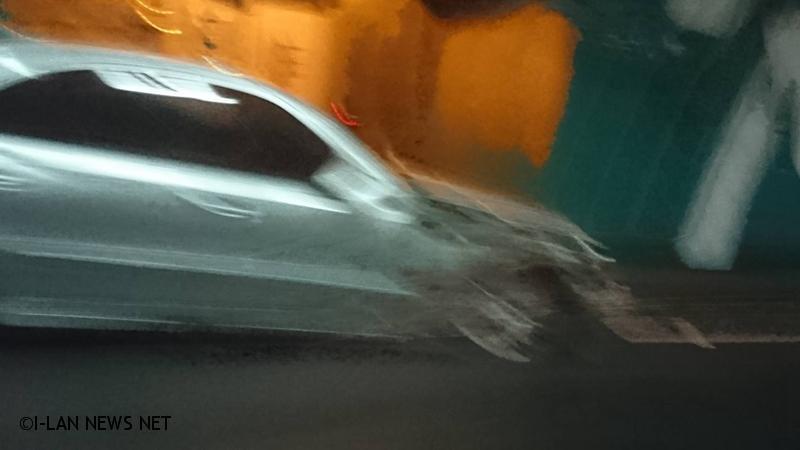 雪隧北上小貨車與轎車車禍回堵至頭城交流道
