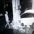 車停家門口深夜遭人用磚塊砸破前檔風玻璃!