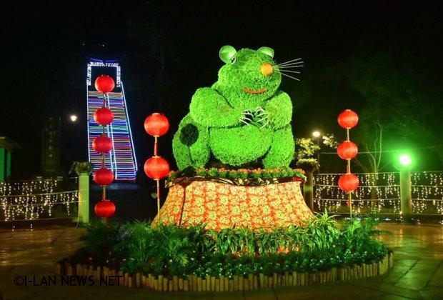 員山燈會風華再現迎接璨爛「鼠」光!