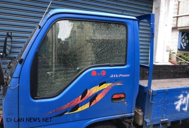 自小貨車玻璃遭BB槍擊碎 警方掌握特定對象
