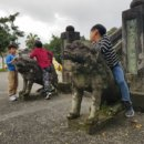你所不知道的!羅東中山公園浩然亭前石雕動物叫「狛犬」