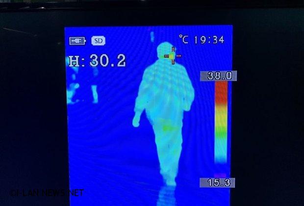 羅東聖母醫院紅外線體溫監測儀 防疫工作如虎添翼