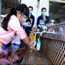 新冠肺炎疫情宜蘭市設置4處水神抗菌液供民眾取用!