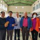 企業家呂天佑捐贈1200個布口罩給三星鄉中小學