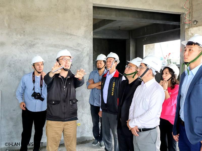 「宜蘭市李科永紀念圖書館」於108年8月動工,預計工期420天。
