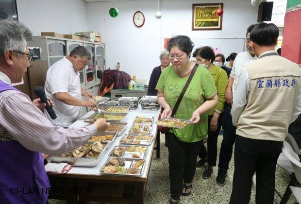 南方澳教會舉辦長青食堂 提供長者餐敍聯誼