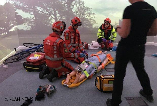 全省唯二模擬訓練教室 提升消防局救災救護能量