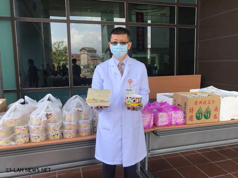 員山鄉阿蘭城廣濟宮以具體行動支持防疫,肩負起宮廟社會責任,發起地方公益回饋。