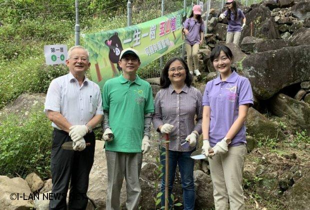 玉山銀行捐贈150萬元投資綠樹資產愛地球
