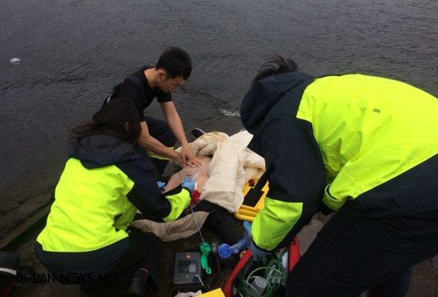 南方澳南寧漁市場前海域老婦人溺水