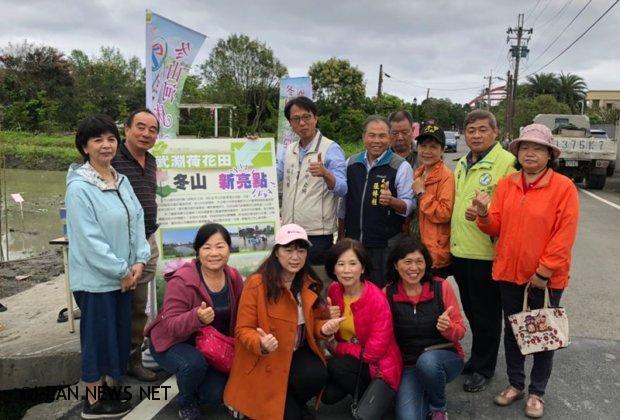 武淵村荷花田今年盛夏將是遊客體驗新亮點!