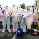縣府防疫消毒大隊 針對公共場所加強消毒