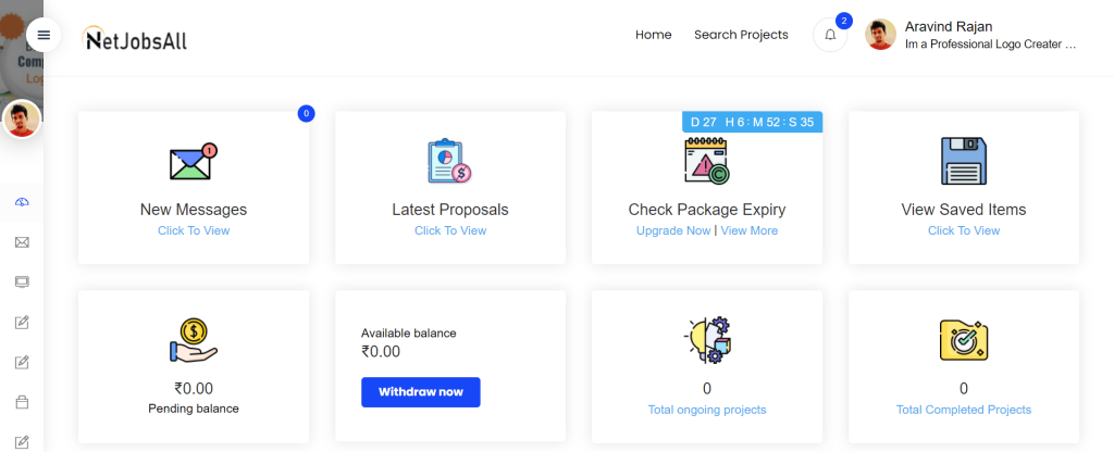 Project In Netjobsall Step-7
