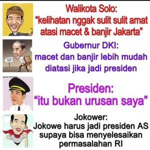 Berikut Adalah Beberapa Meme Lucu Yang Beredar Di Sosial Media Terkait Banjir Jakarta Zul Jokowi Quotes Banjir Meme