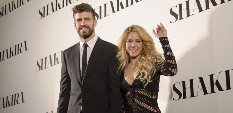Gerard Pique - Shakira (digitalspy.com)