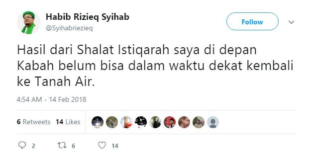 Habib Rizieq Pulang Eggy Sudjana Bilang Hoax, Novel ...